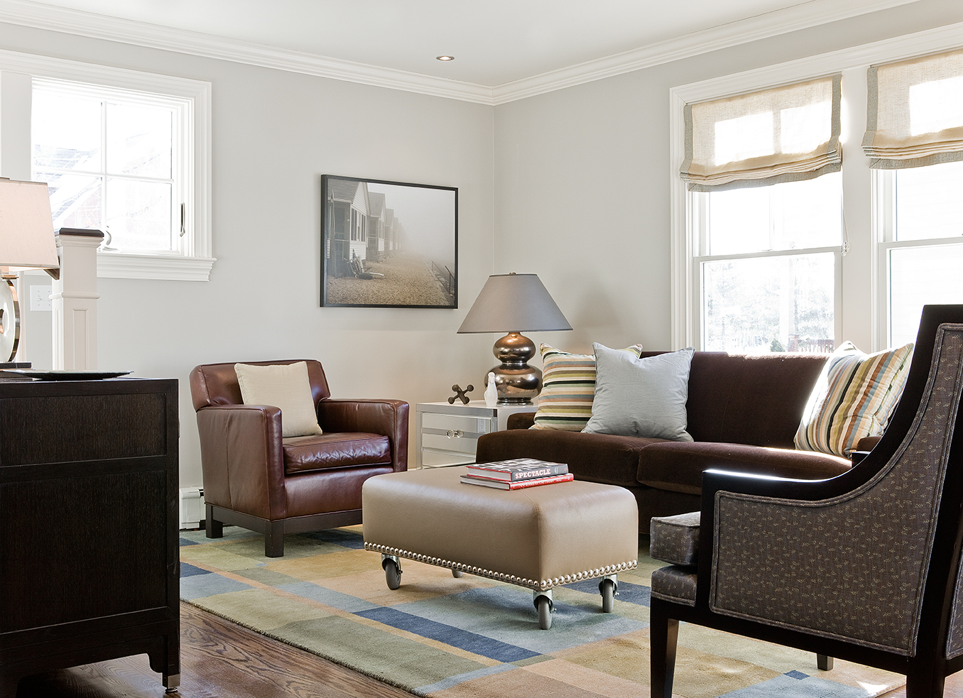 Boston Globe Single Family Home Interior Design