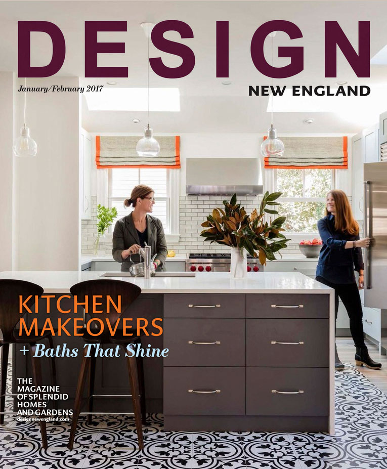 Design New England Magazine, Jan-Feb 2017