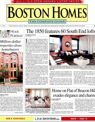 Elms Interior Design Featured in Boston Homes
