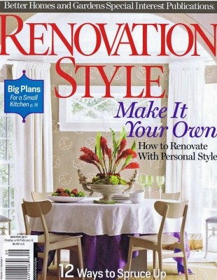 Elms Interior Design Featured in Renovation Style