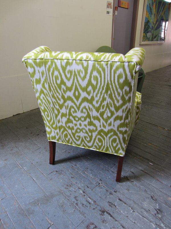 Madeline Weinrib Celery Luce Chair 2