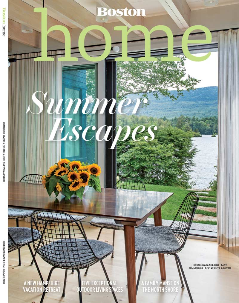 Elms Interior Design featured in Summer 2018 issue of Boston Home