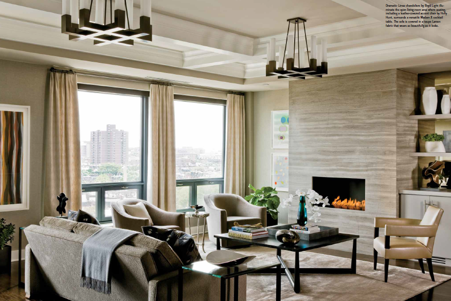 Back Bay Condo Gets A Dynamic New Look Elms Interior