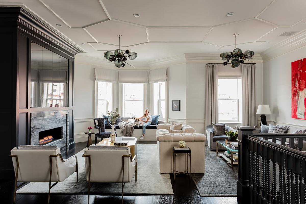 Elms Interior Design Awarded Best Transitional Designer By Boston Magazine S Of Home Winter 2019