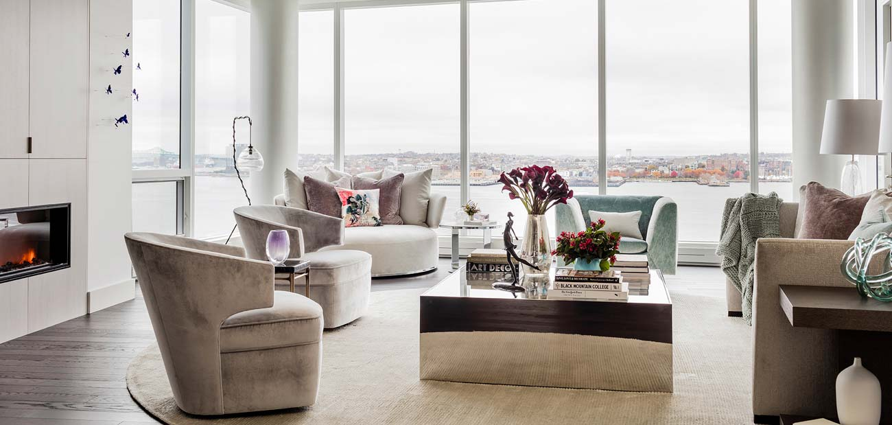 Seaport Highrise Livingroom